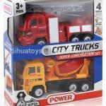 ชุดรถก่อสร้าง 4 คัน Construction Truck Set of 4