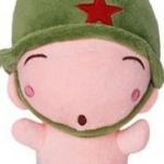 ตุ๊กตาพลทหารพราน ตัวเล็กน่ารักๆๆ หน้าขี้เล่น ปากกลม ตายิ้ม ตัวเล็กขนาด 23 CM