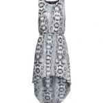 ♥♥พร้อมส่งค่ะ♥♥ H&M Sleeveless Dress Snakeskin pattern ชุดเดรสแขนกุดลายงู พร้อมผ้าลูกไม้ด้านหลังเซ็กซี่ๆ