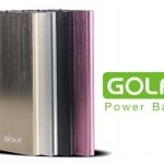 Power bank Golf 10000mAh บางเฉียบไม่ถึง 1ซม.
