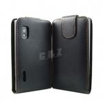 เคสหนังผิวด้าน LG Optimus L5 [E610/E612] รุ่น Flip Leather Case