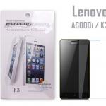 ฟิล์มกันรอยหน้าจอ Lenovo A6000i / K3 ยี่ห้อ Screen Guard