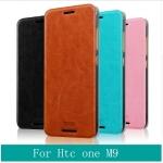 เคสหนังฝาพับ HTC One M9 ยี่ห้อ MOFi Leather Slim