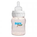ขวดนม Bornfree Classic สีชา 5oz anti-colic bpa free
