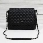 (PREORDER) MNG กระเป๋าสะพายสายโซ่ สีดำ น่ารักมากๆ