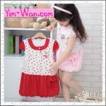 Size 7>> เดรสสาวน้อยสีแดง น่ารักมากค่า ( เช็ครายละเอียด size หน้าแรกได้ค่ะ)