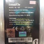 แบตเตอรี่ ไอโมบายZAA7 แท้ศูนย์ BL-157 (i-mobile ZAA7)