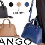 (Preorder) MNG touch saffiano effect mini shoulder bag/ handbag