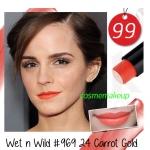 ขายของแท้เท่านั้น Wet n Wild Mega Last Lip Color 3.3 g # 969 สี 24 Carrot Gold โทนส้มทอง น่ารัก