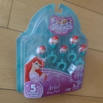 พร้อมส่งค่ะ Squinkies Ariel ring pack set 5 ชิ้น