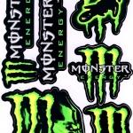 สติ๊กเกอร์ Monster 7