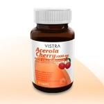 Vistra Acerola Cherry 1000 mg ขนาด 45 แคปซูล วิตามินซี