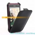 เคสหนังแท้ HTC Rhyme รุ่น Flip Leather Case