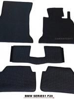 ยางปูพื้นรถยนต์ BMW SERIES1 F20 พรมกระดุมpvc รุ่น minimat กระดุมเม็ดเล็ก สีดำ (5 ชิ้น) พรมปูพื้นลายกระดุม BMW 116i F20 ตัดเข้ารูป100% สวยงาม ทนทานที่สุด ป้องกันน้ำ กันโคลน กันเปื้อนได้ดี