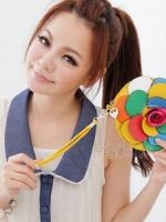 PG กระเป๋าสตางค์รูปดอกไม้หลากสีค่ะ