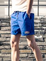 กางเกงขาสั้นเอวยางยืด