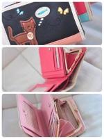 (พร้อมส่ง)กระเป๋าสตางค์เกาหลี สีดำ