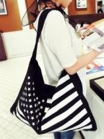 Maomaobag กระเป๋าสะพายแฟชั่น ลายธงชาติ
