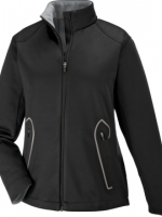 SPLICE LADIES' SOFT SHELL JACKET WITH LASER WELDING