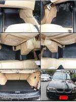 ยางปูพื้นรถยนต์ BMW X3 E83 พรมกระดุมpvc รุ่น minimat กระดุมเม็ดเล็ก สีดำ (6 ชิ้น) พรมปูพื้นลายกระดุม BMW X3 E83 ตัดเข้ารูป100% สวยงาม ทนทานที่สุด ป้องกันน้ำ กันโคลน กันเปื้อนได้ดี