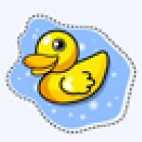 พวงกุญแจบีดัค B.duck