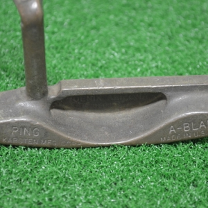 "PING A BLADE 37"" HEEL-SHAFTED PUTTER"