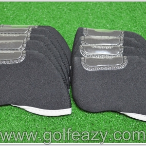 GOLF IRON HEADCOVER NEOPRENE PROTECTIVE 10PCS