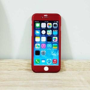 เคสไอโฟน 6 พลัส/6S พลัส ประกบ สีแดง