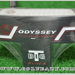 "ODYSSEY WORKS BIG T BLADE SUPERSTROKE PUTTER 34"" LEFT-HAND"
