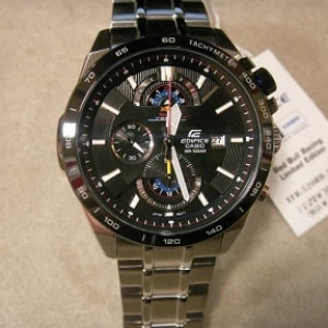 Casio edifice redbull EFR-520RB สายดำ