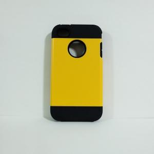 เคสไอโฟน 4/4S SLIM Armor สีเหลือง
