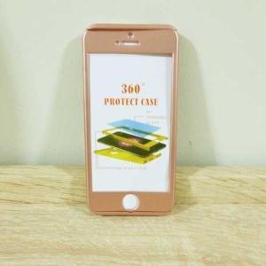 เคสไอโฟน 6 พลัส/6S พลัส ประกบ สีพิ้งโกล