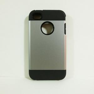 เคสไอโฟน 4/4S SLIM Armor สีเทา