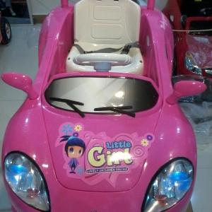 รถแบตเตอรี่ HD6420 เฟอร์รารี่ สีชมพู ยอดนิยม