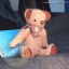 ตุ๊กตาหมีผ้าวูลสีน้ำตาลขนาด 21 cm. - Holly thumbnail 5