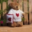 Teddy Bear (Be my Valentine.) ขนาด 21 ซม. thumbnail 1