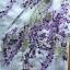 เดรสแขนบานสีขาวปักลายดอกไม้สีม่วง thumbnail 7