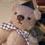 ตุ๊กตาหมีผ้าขนหนูสีน้ำตาลขนาด 10 cm. - Muffin thumbnail 4