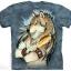 เสื้อยืด3Dสุดแนว(GOLDEN FEATHER T-SHIRT) thumbnail 1
