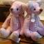 ตุ๊กตาหมีผ้าฝ้ายสีชมพู ขนาด 14 cm. - Herbie thumbnail 2