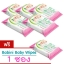 ทิชชู่เปียก Provamed Babini Baby Wipes โปรวาเมด เบบินี่ เบบี้ ไวพ์ 5 แพ็ค ฟรี 1 แพ็ค รวมเป็น 6 แพ็ค (แพ็คละ 20 แผ่น) ทำความสะอาดผิวหน้าและผิวกาย สัมผัสอ่อนโยน