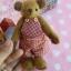 ตุ๊กตาหมีผ้าขนสั้นสีน้ำตาลขนาด 13 cm. - Cracker Boy thumbnail 6