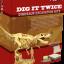 ชุดขุดฟอสซิลDig it Twice (แบบเล่นสองรอบ ขุดแล้วนำมาประกอบเป็นโมเดลได้) thumbnail 1