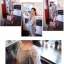 RJ.Story เสื้อแฟชั่นเกาหลีสีเทาตัดต่อด้วยผ้าโครเช ด้านหลังเว้าพร้อมเชือกผูก เก๋มากค่ะ thumbnail 6