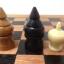 ชุดกระดานหมากรุกไทยไม้ก้ามปูพกพาพร้อมตัวหมากชุดใหญ่ (ขนาด38.5x42 cm) thumbnail 22