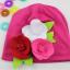 -พร้อมส่ง- หมวกผ้าประดับดอกไม้ hand made ขนาดใหญ่ น่ารักสดใส มี 3 ลายให้เลือก เหมาะสำหรับน้อง 6 เดือน - 2 ปีค่ะ thumbnail 5
