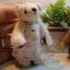 ตุ๊กตาหมีผ้าขนสีครีม ขนาด 7.5 cm. - Getty thumbnail 4