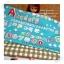 AUGUST58.Pack16: ผ้าจัดเซต 2 ชิ้น ผ้า USA +ผ้าเนื้อดีในไทย 1 ชิ้น ขนาด แต่ละชิ้น 25- 27 X 45-50 cm thumbnail 1