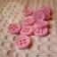 กระดุมขนาดเส้นผ่านศูนย์กลาง 12 mm. - pink thumbnail 2