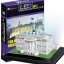 จิ๊กซอ 3 มิติ ทำเนียบขาวแบบเปล่งแสง(The White House LED )(No.L504h) thumbnail 1